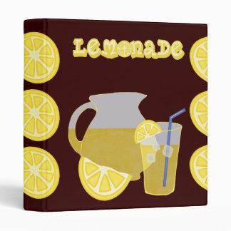 Lemonade Binder