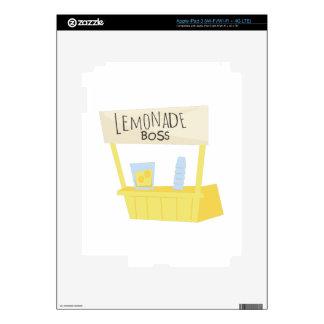 Lemonade Boss Skins For iPad 3