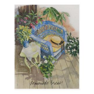 Lemonade Break! Postcard
