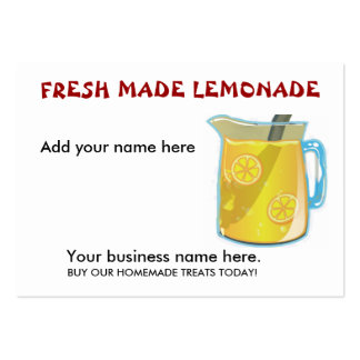 business analysis of a lemonade stand The lemonade stand--where so many budding entrepreneurs had their first taste of doing business--was the setting for a recent experiment by researchers at stanford business school.