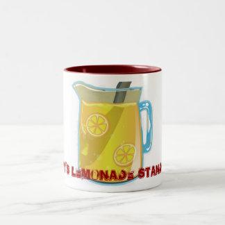 Lemonade Coffee Mug Rusty's Lemonade Stand .com