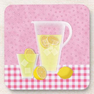 Lemonade Cork Back Coaster