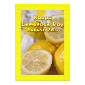 Lemonade Day Invitation August 20