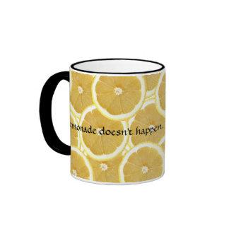 Lemonade Doesn't Happen Coffee Mugs