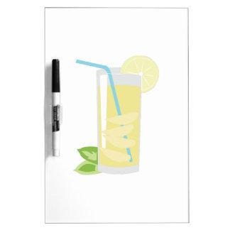 Lemonade Glass Dry-Erase Board