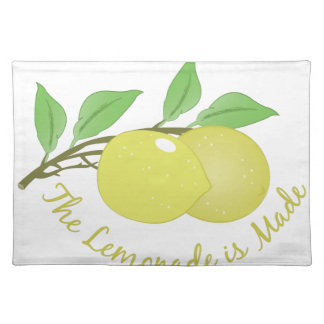 Lemonade Is Made Cloth Placemat