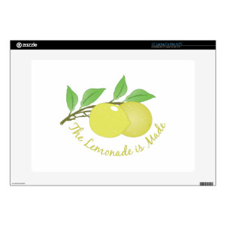 """Lemonade Is Made Decals For 15"""" Laptops"""