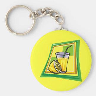 Lemonade Keychain