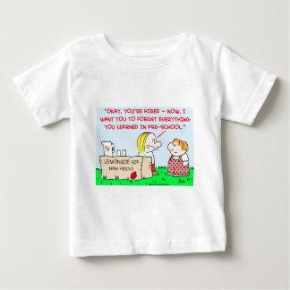 lemonade learned pre-school baby T-Shirt