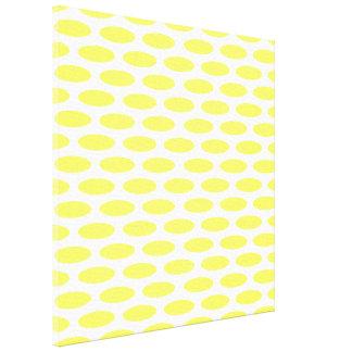 Lemonade Modern Oval at Emporiomoffa Canvas Print
