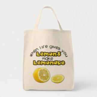 Lemonade - Organic Grocery Tote
