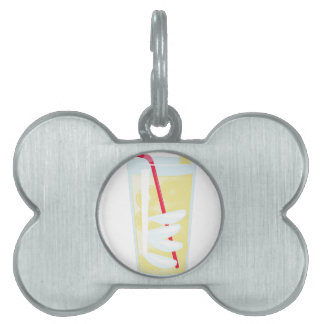 Lemonade Pet ID Tag