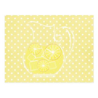 Lemonade Post Card