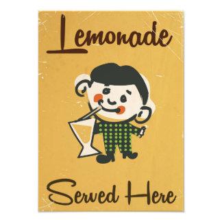 Lemonade Served here vintage Drinks commercial Photo Print