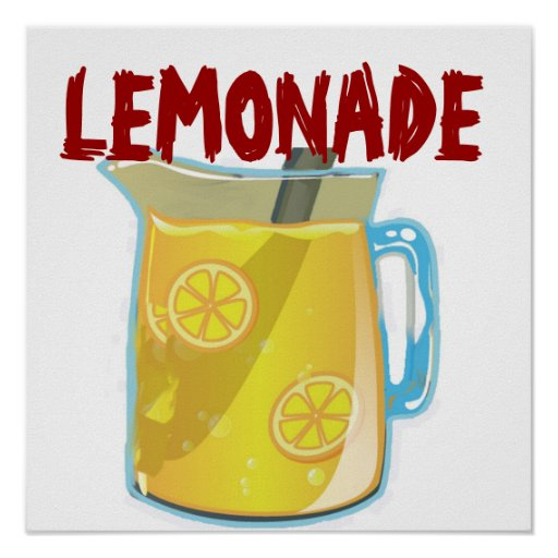 Lemonade Stand Poster Designs : Lemonade sign poster zazzle