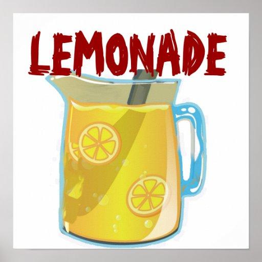 Lemonade Stand Poster Designs : Lemonade sign print zazzle