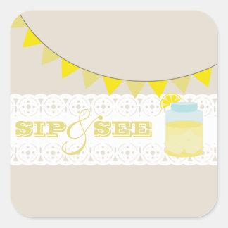 Lemonade Sip And See Sticker