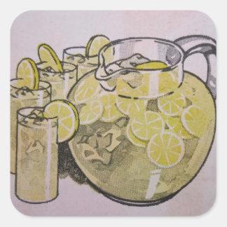 Lemonade Square Sticker