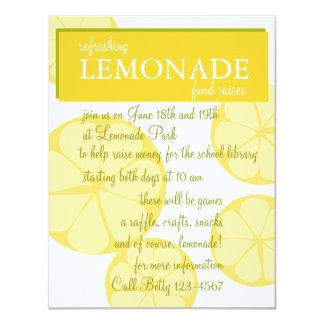 Lemonade Stand Custom Invites