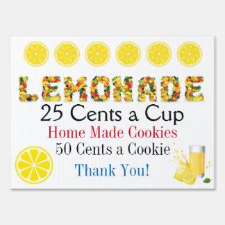 Lemonade Stand Lawn Sign - srf