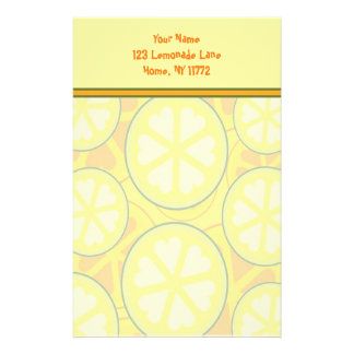 Lemonade Stand Personal Stationery
