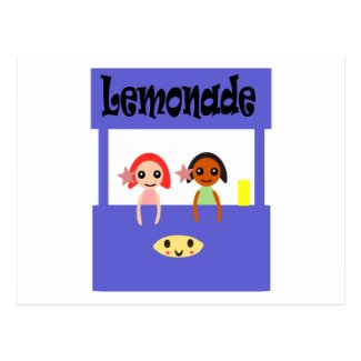 Lemonade Stand Postcard