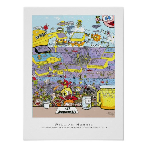 Lemonade Stand Poster Designs : Lemonade stand posters and prints zazzle