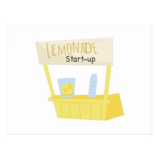 Lemonade Start Up Postcard