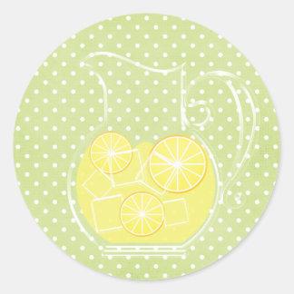 Lemonade Round Sticker