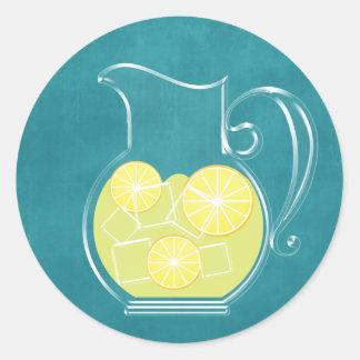 Lemonade Round Stickers