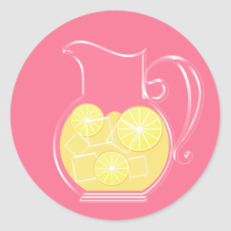 Lemonade Stickers