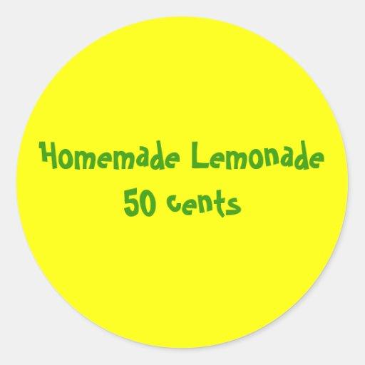 Lemonade Sticker