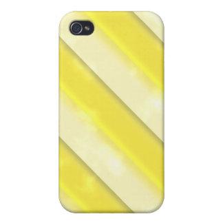 Lemonade Stripes Cases For iPhone 4