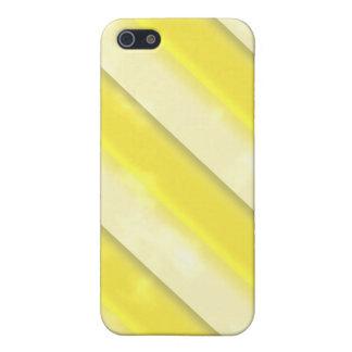 Lemonade Stripes Cases For iPhone 5