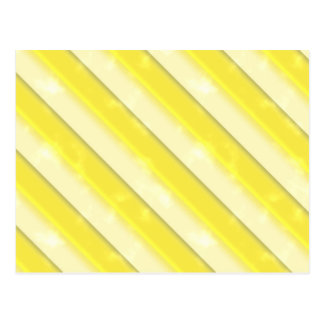 Lemonade Stripes Postcard
