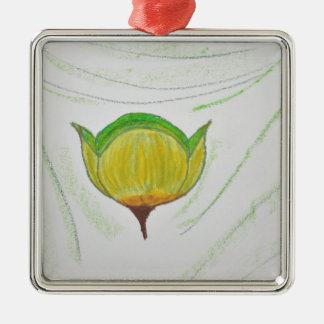 lemongrass poppy.jpg metal ornament