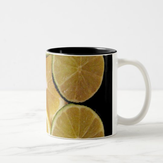LemonLime Two-Tone Coffee Mug