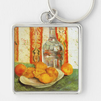 Lemons and Decanter, 1887 by Vincent Van Gogh Keychain