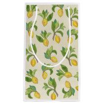 Lemons and Leaves gift bag
