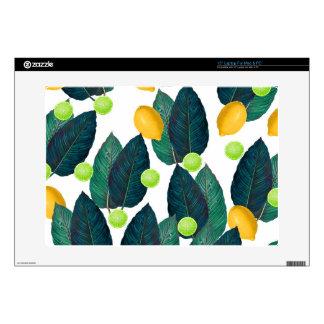 "lemons and limes 15"" laptop skin"