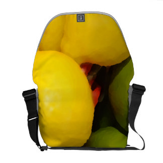Lemons and Limes Courier Bags