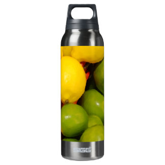 Lemons and Limes 16 Oz Insulated SIGG Thermos Water Bottle