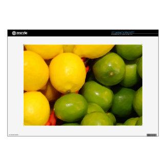 """Lemons and Limes 15"""" Laptop Skins"""