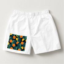 lemons and oranges black boxers