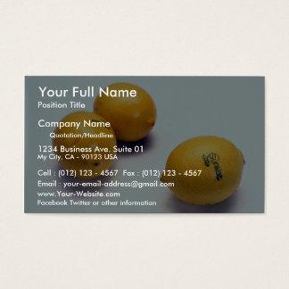 Lemons Business Card