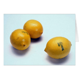 Lemons Card