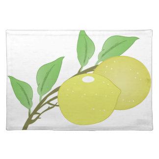 Lemons Cloth Placemat