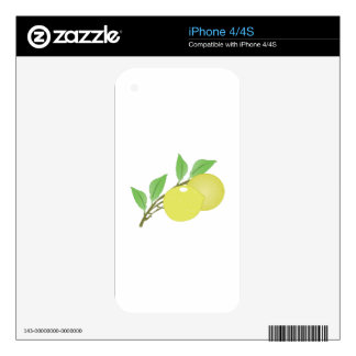 Lemons Decals For The iPhone 4S