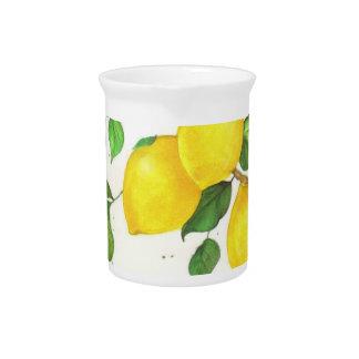 Lemons Design Pitcher