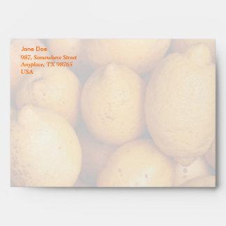 Lemons Envelope
